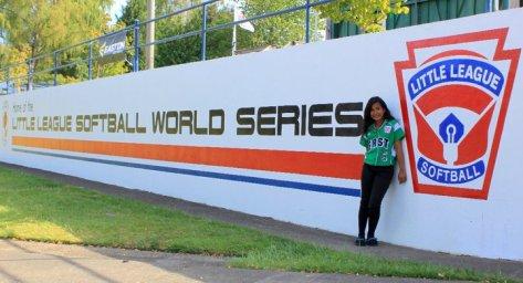 Reese @ Little League Softball World Series